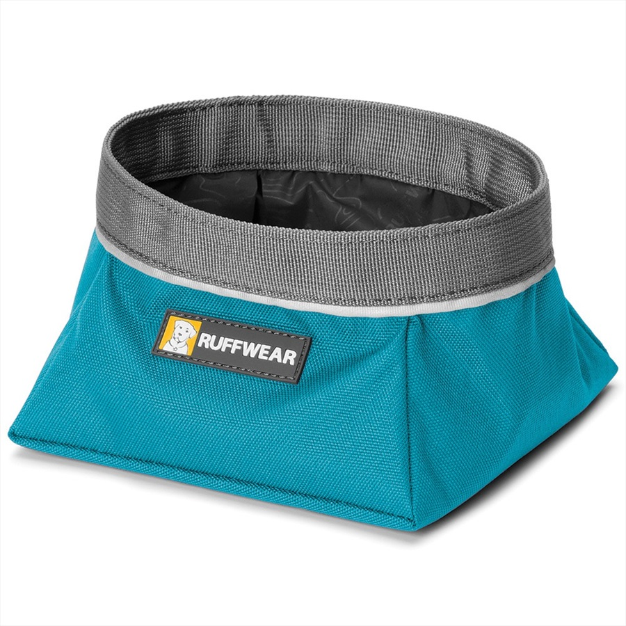 Ruffwear Quencher Dog Water/Food Bowl L Pacific Blue