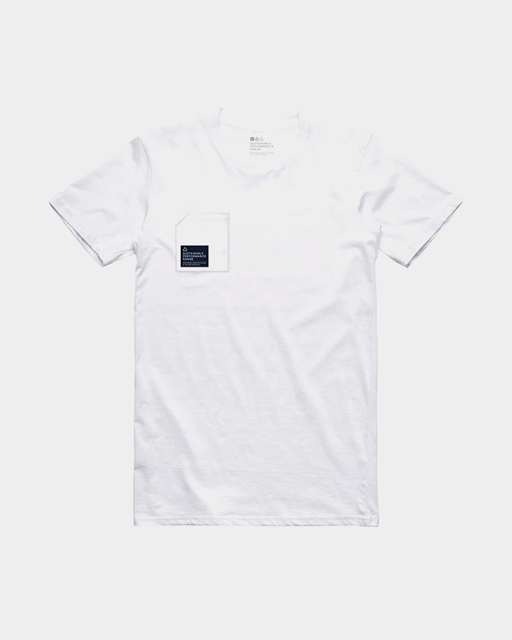 Follow S.P.R. Cotton T Shirt, Medium White 2019