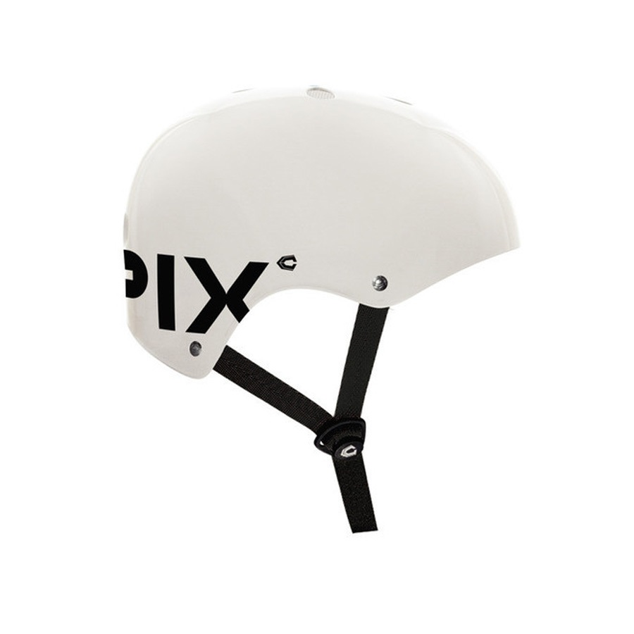 Capix Danny Way Basher Skate Helmet, L/XL, White Gloss