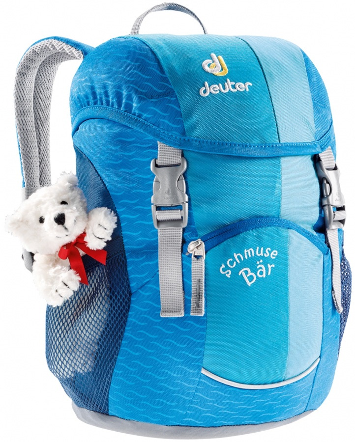 Deuter Schmusebär Children's Backpack, 8L Turquoise