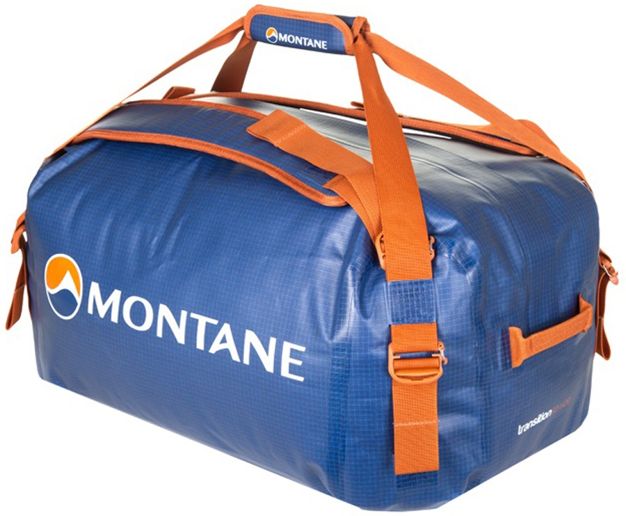 Montane Transition H20 Duffel Travel Bag 60L Antarctic Blue