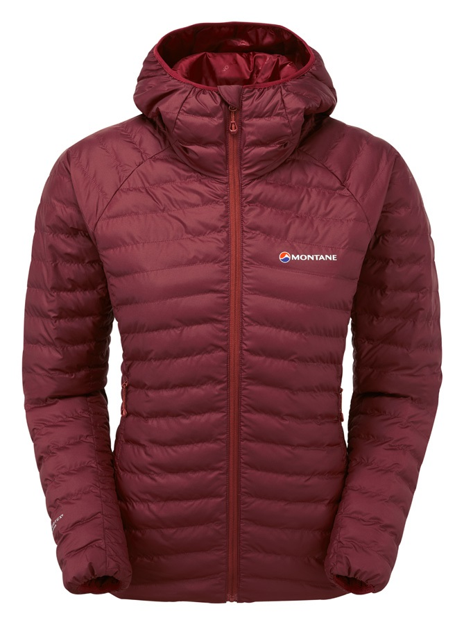 Montane Womens Phoenix Women's Insulated Jacket, UK 10 Tibetan Red