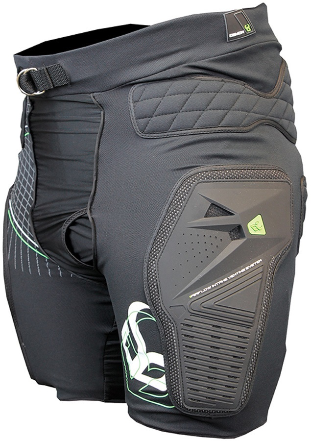 Demon Shield Snowboard/Ski Impact Shorts S Black
