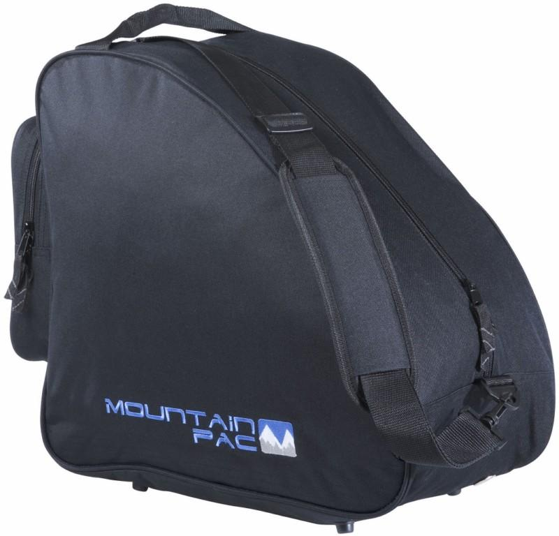 Mountain Pac Shaped Ski Boot Bag, One Size Fits All, Black