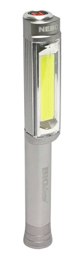 Nebo Big Larry Work Light High Power LED Torch, 400lm Silver