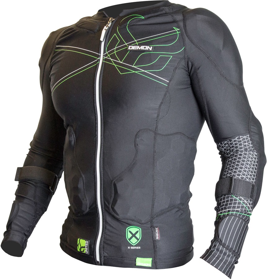 Demon Flex Force X D3O V3 Body Armour Top, S Black/Green