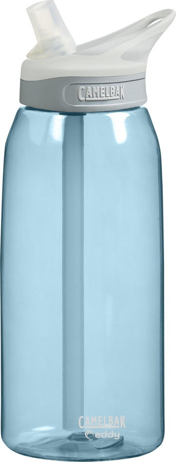 Camelbak Eddy Spill-Proof Water Bottle, 1L Sky Blue