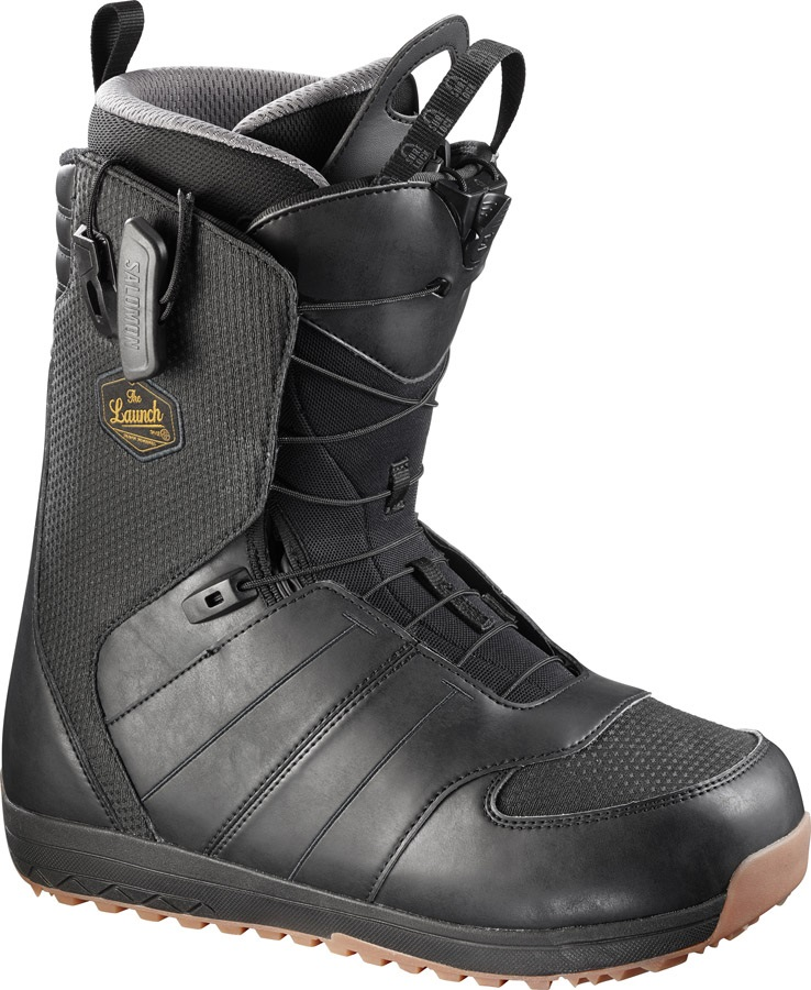 17afca82ba85 Salomon Launch SL Men's Snowboard Boots UK 10.5 Black/Detroit 2017