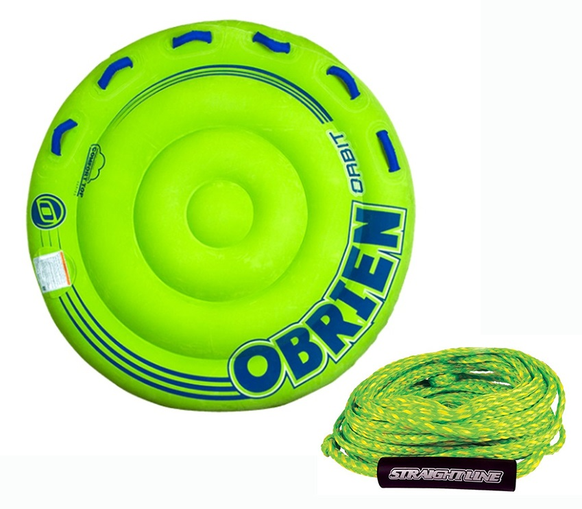 O'Brien Orbit | Supreme Rope Towable Tube Pack, 2 Rider