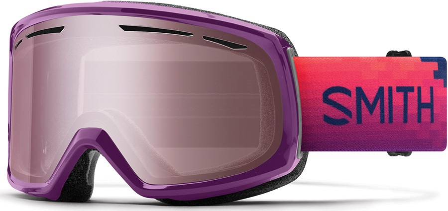 Smith Drift Ignitor Women's Snowboard/Ski Goggles, M Monarch Reset