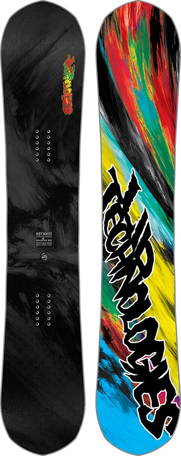 Lib Tech Hot Knife Hybrid Camber Snowboard, 156cm Wide 2018