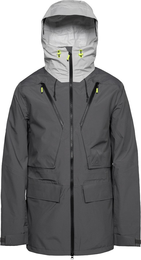 Wearcolour (CLWR) Raven Ski & Snowboard Jacket, M Rock Grey