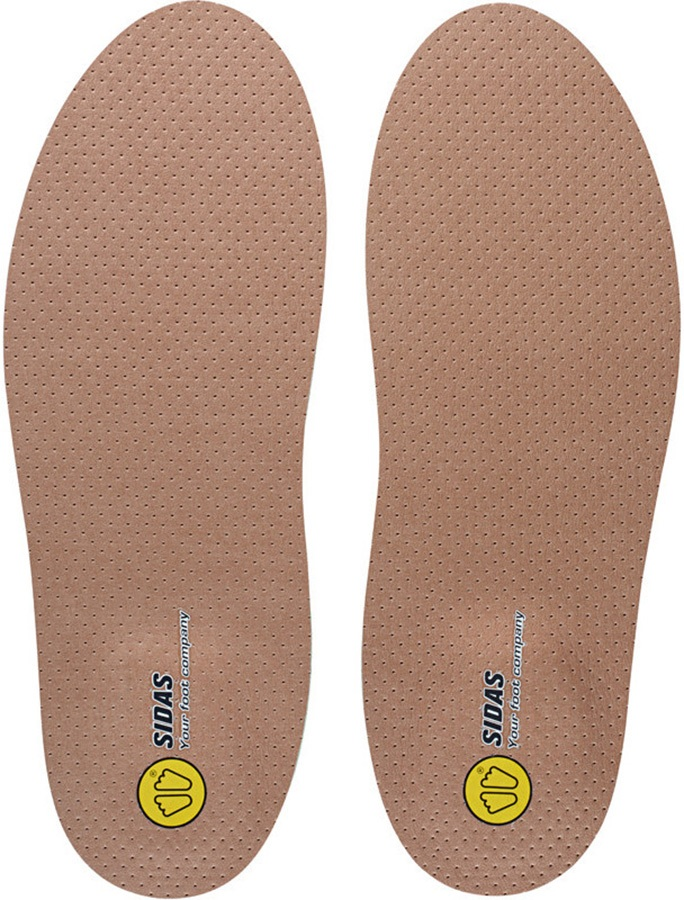 Sidas Custom Outdoor Hiking/Walking Insoles, XS Brown