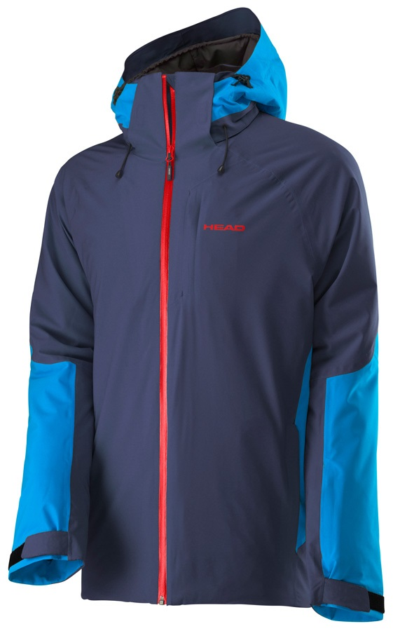 Head Eclipse 2L Insulated Waterproof Jacket, M Navy/Lagoon