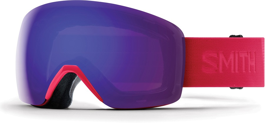 be1fb276adc Smith Skyline CP Violet Snowboard Ski Goggles