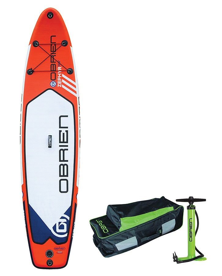 "O'Brien Zephyr Touring ISUP Paddleboard Package, 10'6"" 2018"