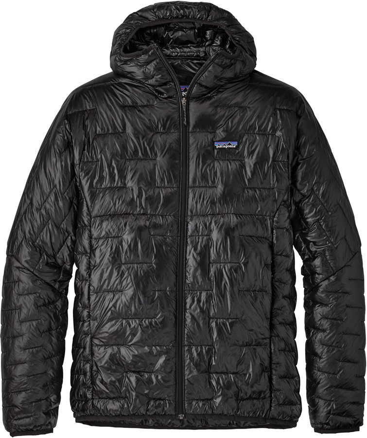 Patagonia Micro Puff Hoody Insulated Jacket, L Black