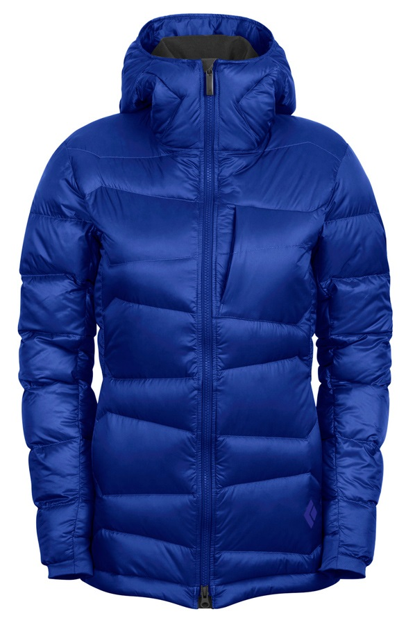 Black Diamond Cold Forge Parka Women's Insulated Jacket UK 14 Blue