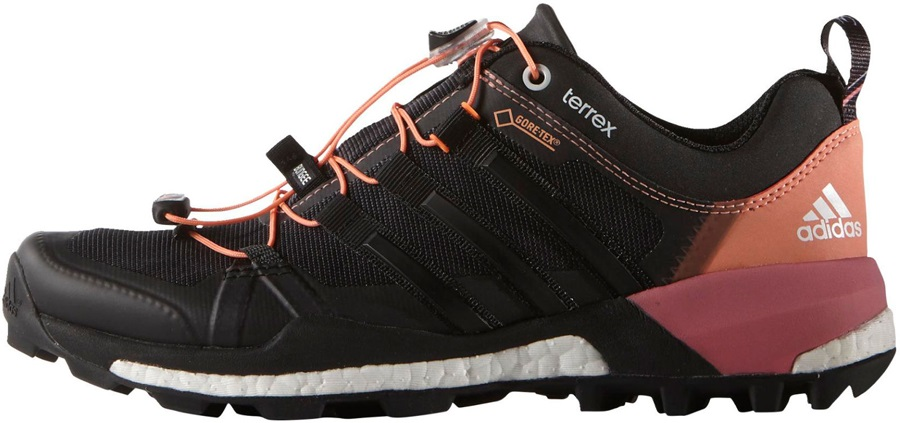 461360318ea180 Adidas Terrex Skychaser GTX Women s Trail Shoes UK 5.5 Black Pink