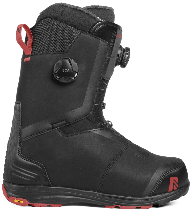Nidecker Helios Focus Boa Snowboard Boots, UK 8.5 Black 2019