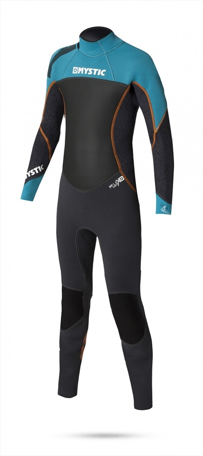 Mystic Star 3/2mm Full Junior Wetsuit, Junior L Teal Black