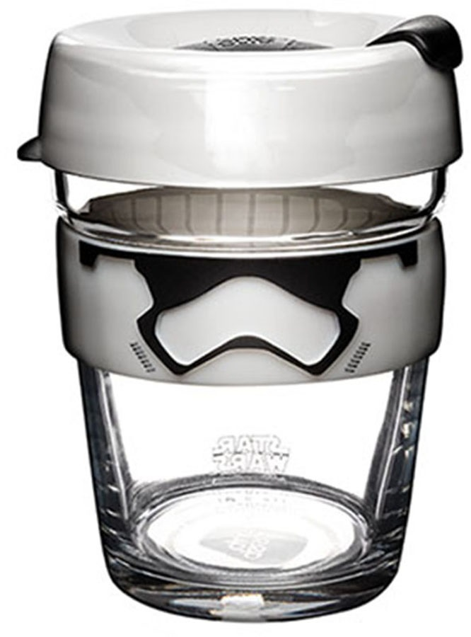 KeepCup Star Wars Brew Reusable Coffee Cup, 340ml/12oz Stormtrooper