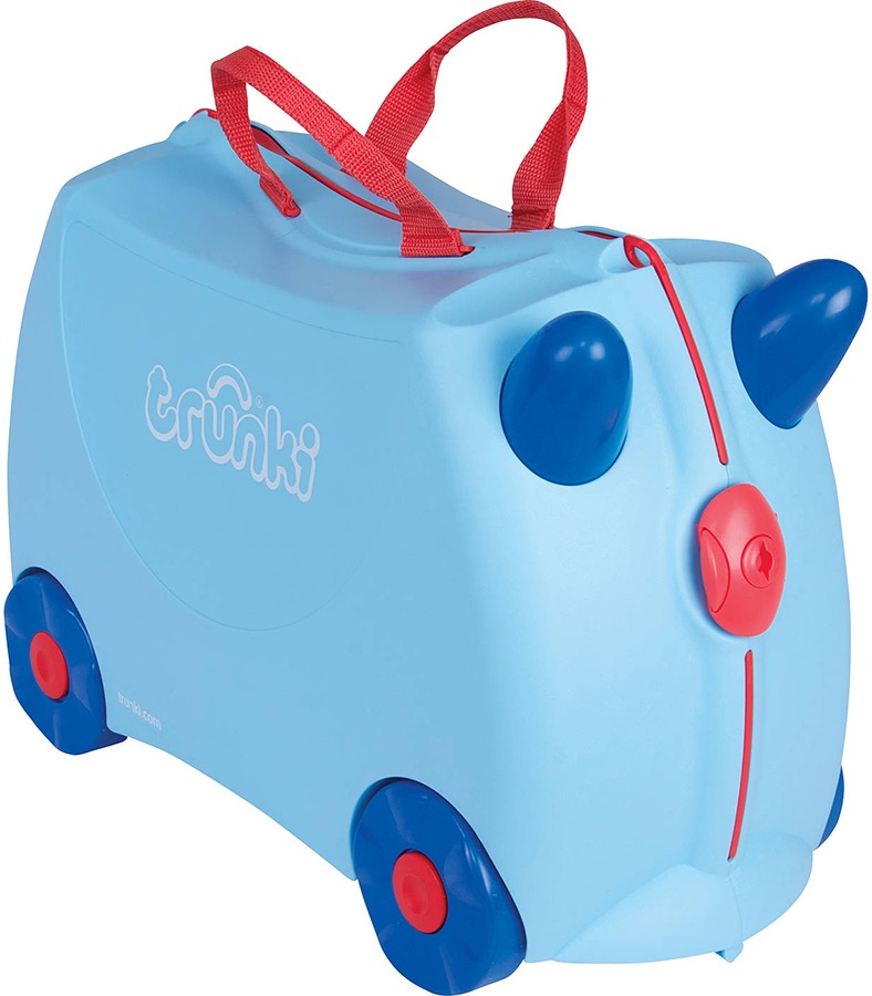 Trunki George Kid's Wheeled Hand Luggage, 18L Blue