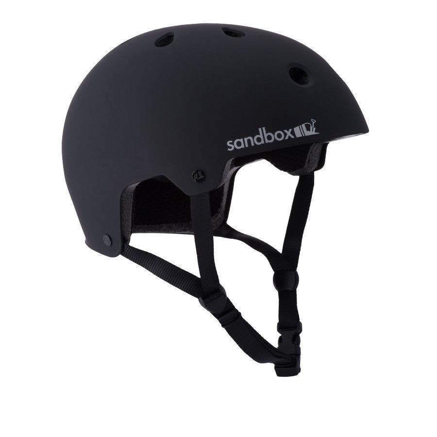 Sandbox Legend Low Rider Wakeboard Helmet, S Black 2019