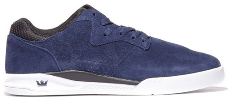 Supra Quattro Skate Shoes UK 11 Navy/Black