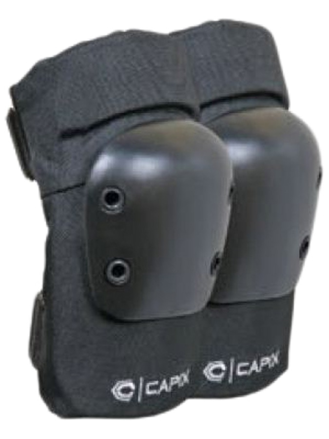 Capix Street Elbow Pads Skateboard Elbow Pads, X-Large, Black, 031852