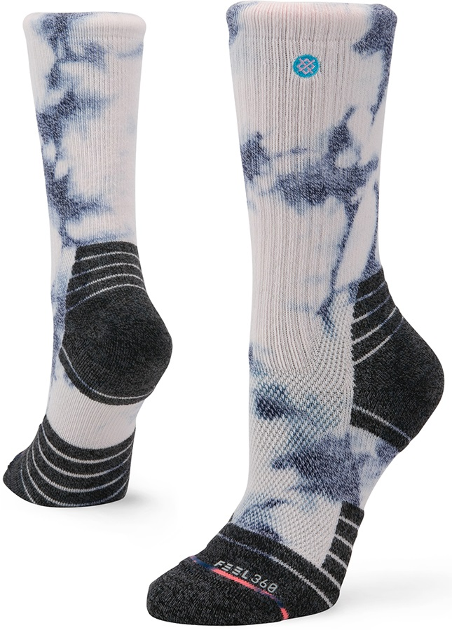 Stance Womens Nestucca Hike Crew Walking/Hiking Socks, S Lilac Ice
