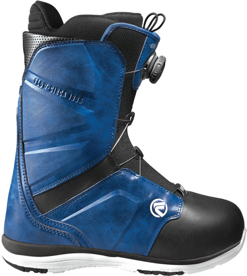 Flow Aero Coiler Ex Display Snowboard Boots, UK 8 Blue 2017