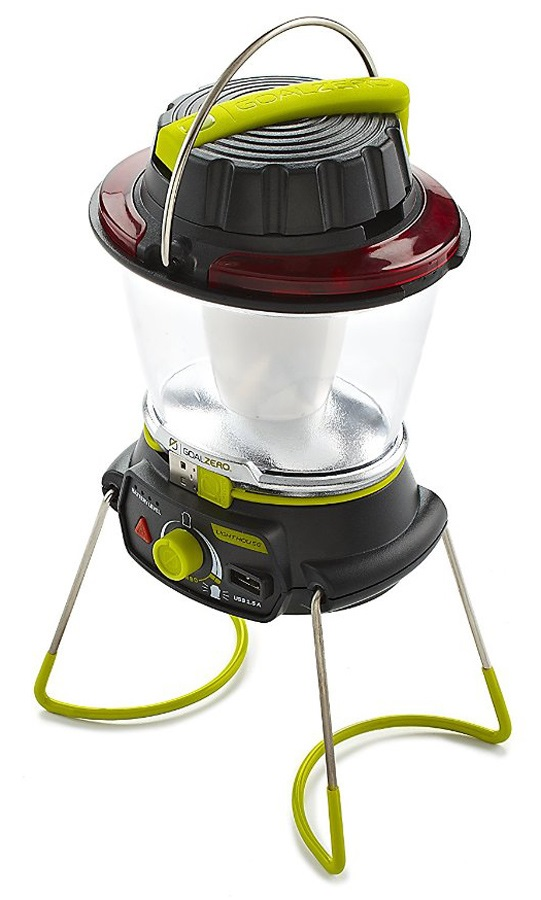 Goal Zero Lighthouse 400 Travel Lantern & USB Power Hub Green/Black