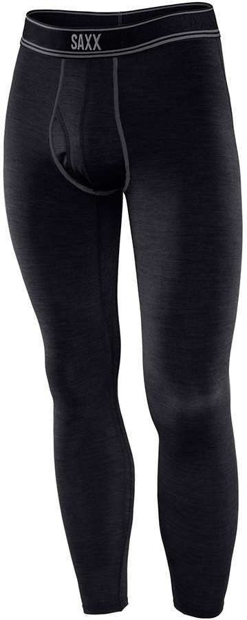 Saxx Blacksheep Tight Long Johns L Black Heather