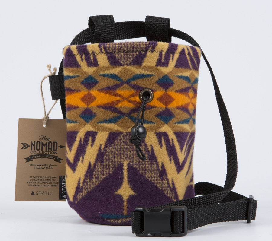 Static Nomad Rock Climbing Chalk Bag: Dakota