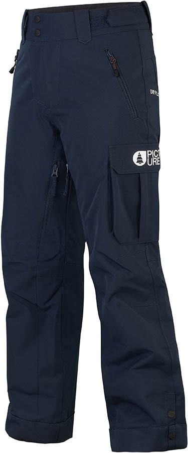 Picture August Kid's Ski/Snowboard Pants, M Dark Blue