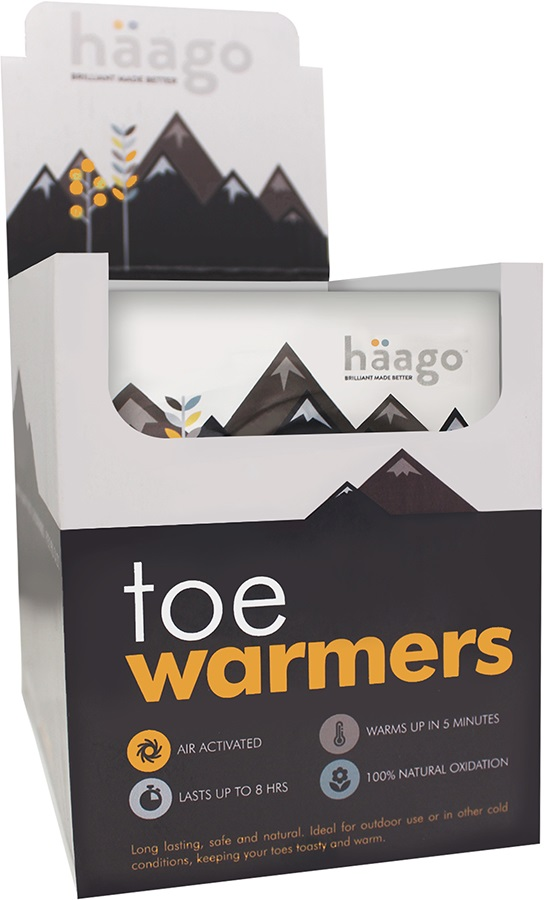 Haago Disposable Toe Warmers, 20 Pairs