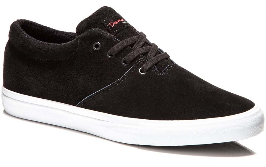 3cf3ff7325 Diamond Supply co. Torey Skate Shoes 7 Black Suede