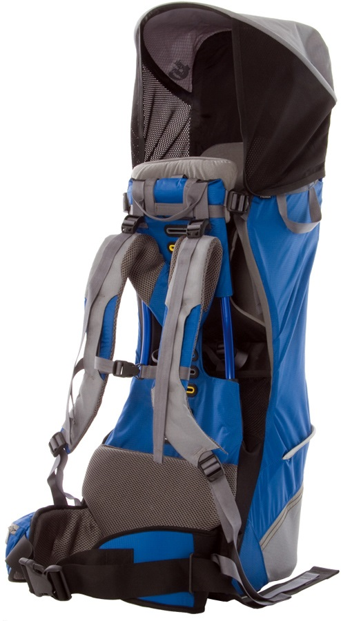 Bushbaby Premier Child Carrier Hiking Backpack Blue/Grey