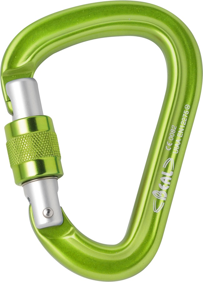 Beal Be Safe Rock Climbing Carabiner N/A Teal