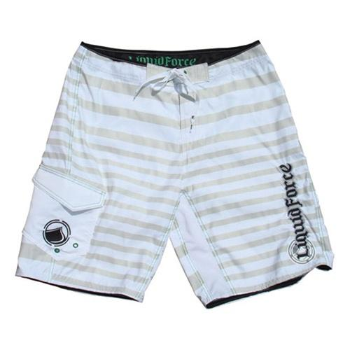 "Liquid Force OCTAGON Board Shorts 32"" / 81cm White"