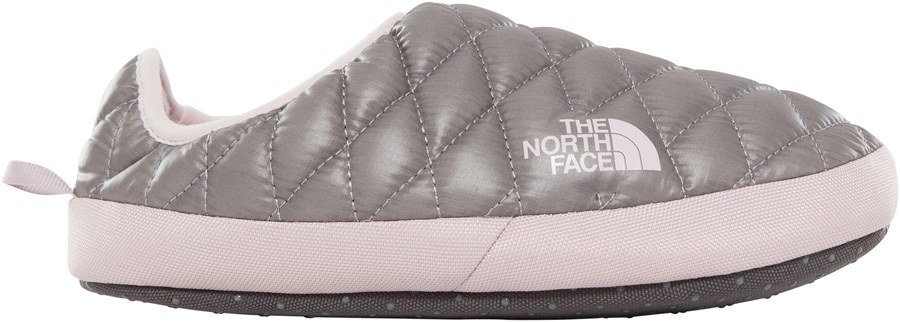 The North Face Thermoball Tent Mule IV Womens Slippers, M Shiny Grey