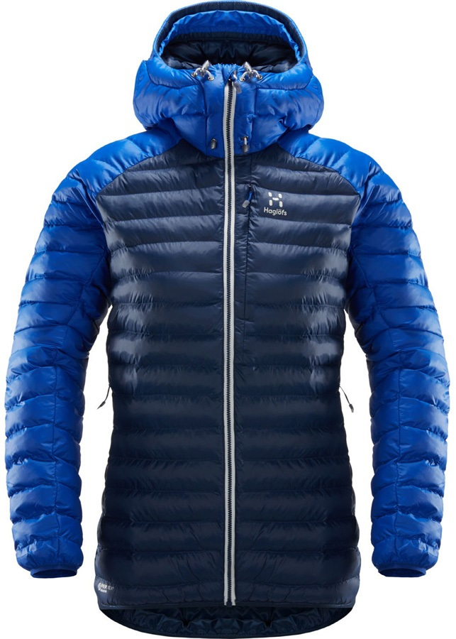 Haglofs Essens Mimic Hood Women's Insulated Jacket XS Tarn/Cobalt Blue