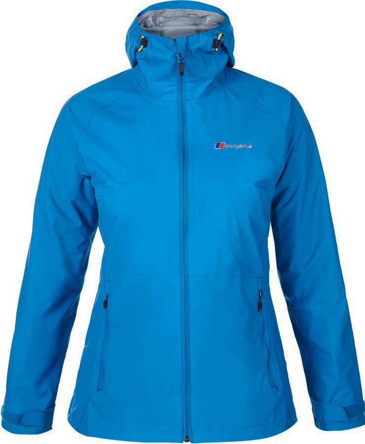 Berghaus Stormcloud Women's Waterproof Jacket, UK 18 Mykonos Blue