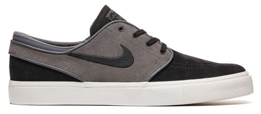 c80fab1780 Nike SB Zoom Stefan Janoski Skate Shoes, UK 10 Black/White/Grey