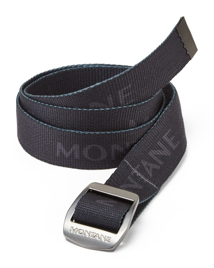 Montane Adult Unisex Lasso Belt, One Size Charcoal