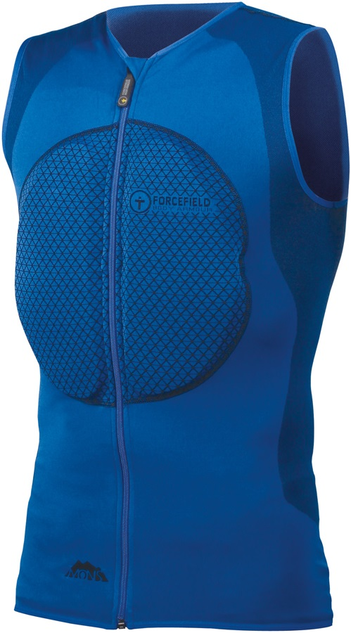 Forcefield Mons Vest Body Armour With Chest Armour, S, Blue