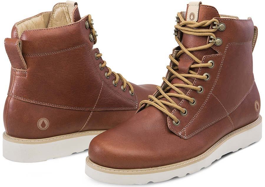 Volcom Smithington II Men's Winter Boots, UK 7 Rust