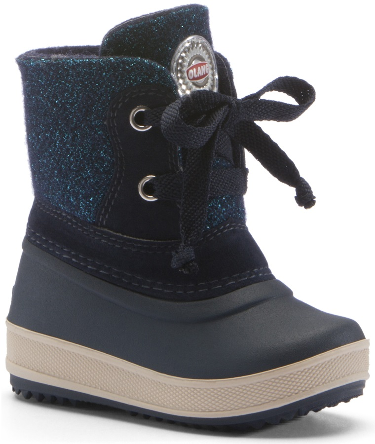 Olang Grillo Kids Winter Snow Boots, UK Child 4.5/5.5 Navy
