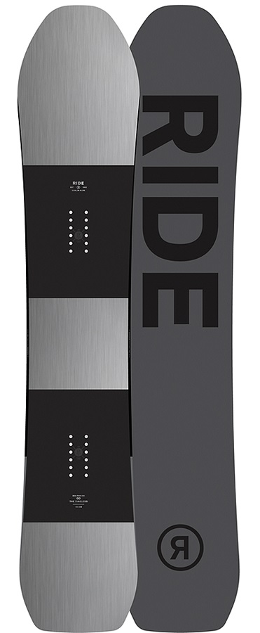 Ride Timeless Hybrid Camber Snowboard, 162cm, 2017